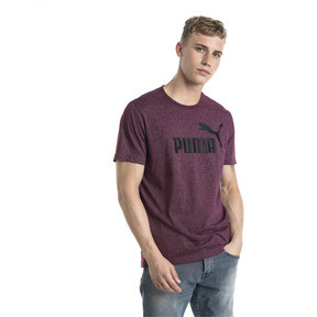 Thumbnail 2 of Essentials+ Men's Heathered Tee, Fig Heather, medium