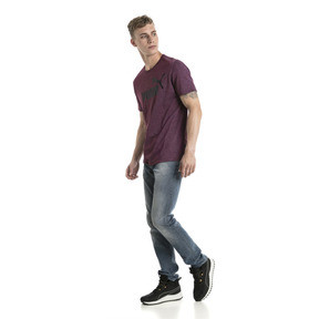 Thumbnail 5 of Essentials+ Men's Heathered Tee, Fig Heather, medium