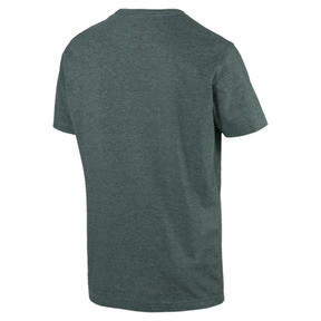 Thumbnail 2 of Essentials+ Men's Heathered Tee, Ponderosa Pine Heather, medium