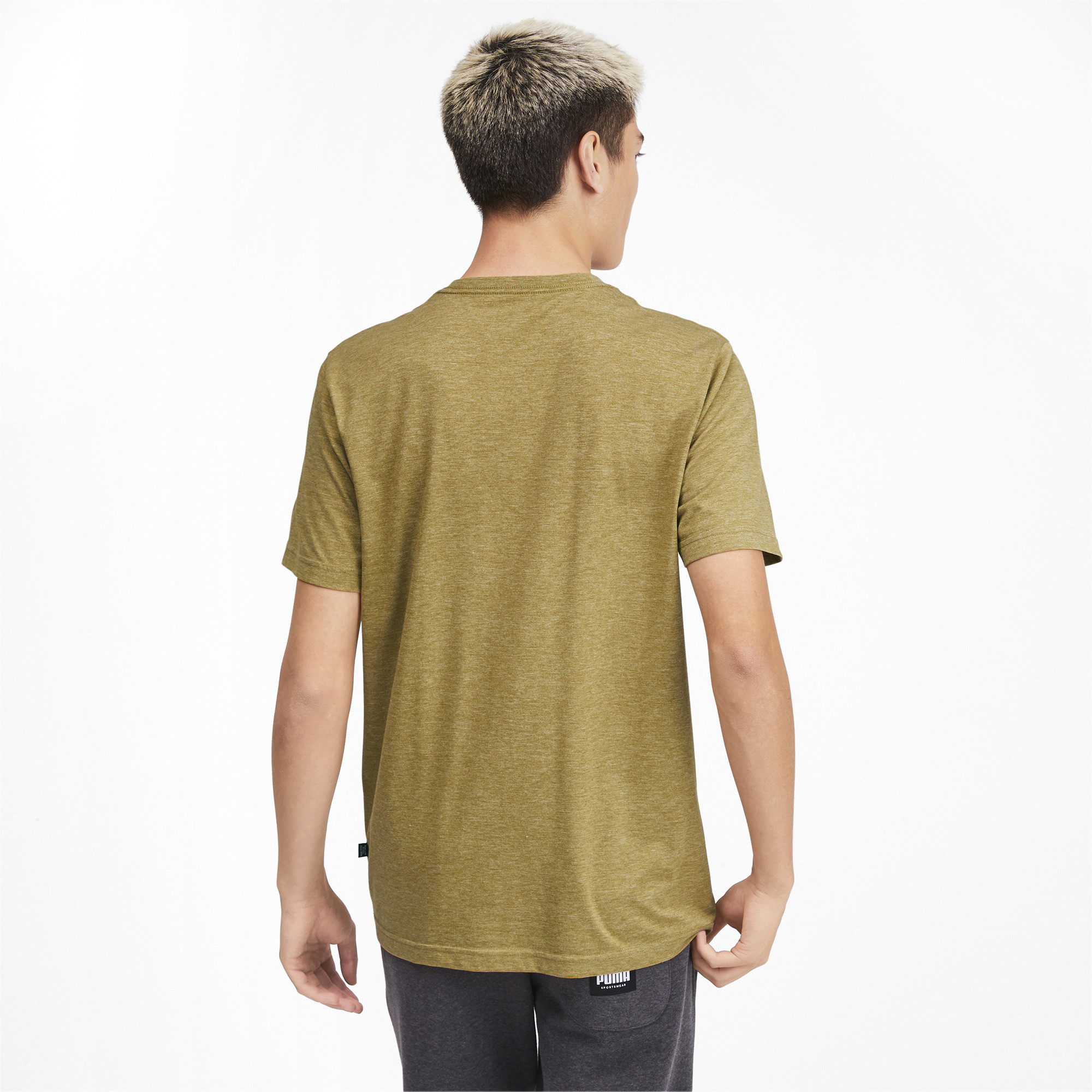 PUMA-Essentials-Heather-Tee-Men-Tee-Basics thumbnail 29