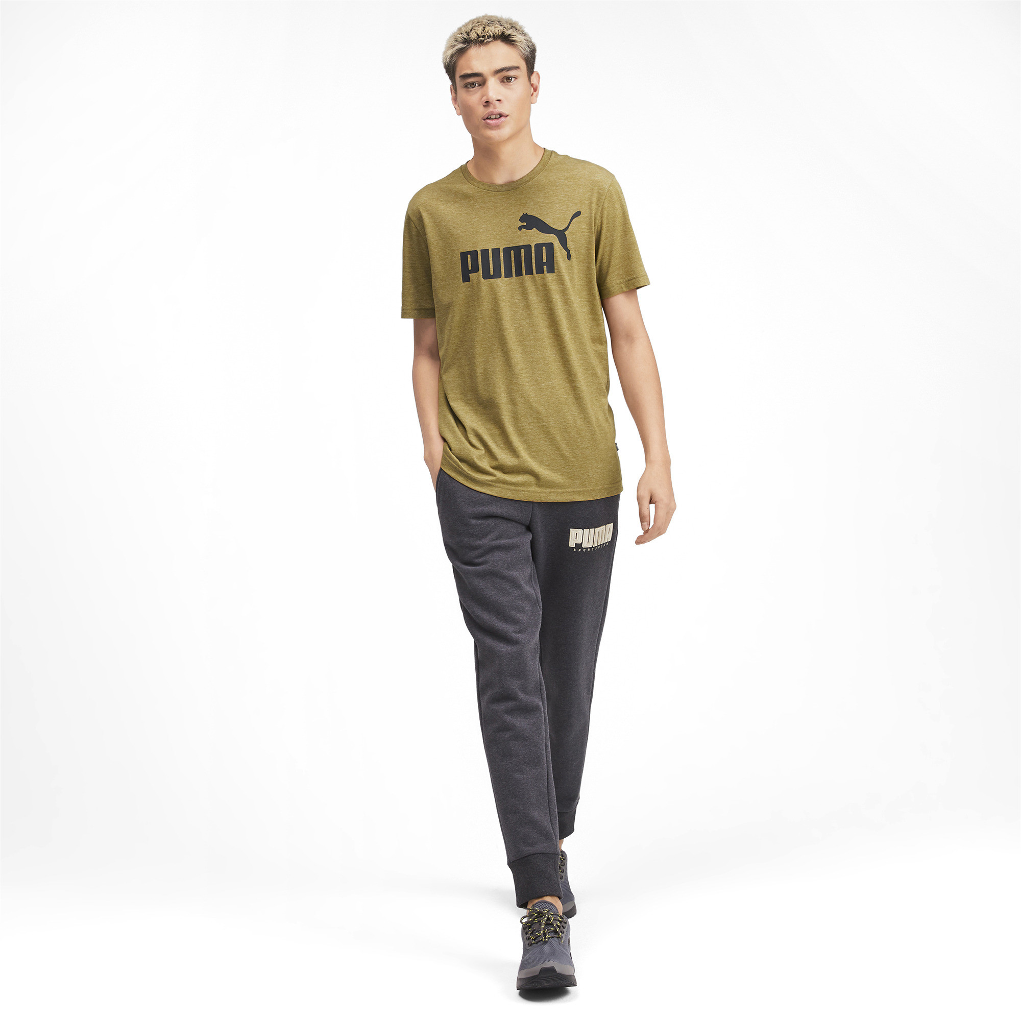 PUMA-Essentials-Heather-Tee-Men-Tee-Basics thumbnail 30