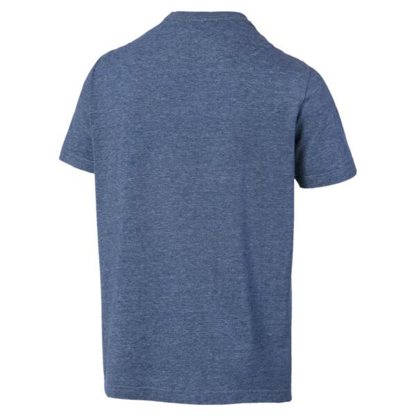 Camiseta Essentials+ Heather, Gibraltar Sea Heather, grande
