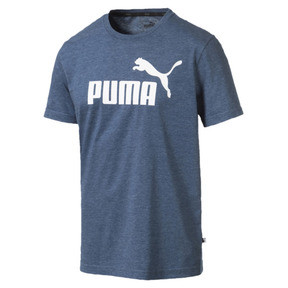Miniatura 4 de Camiseta Essentials+ Heather, Gibraltar Sea Heather, mediano