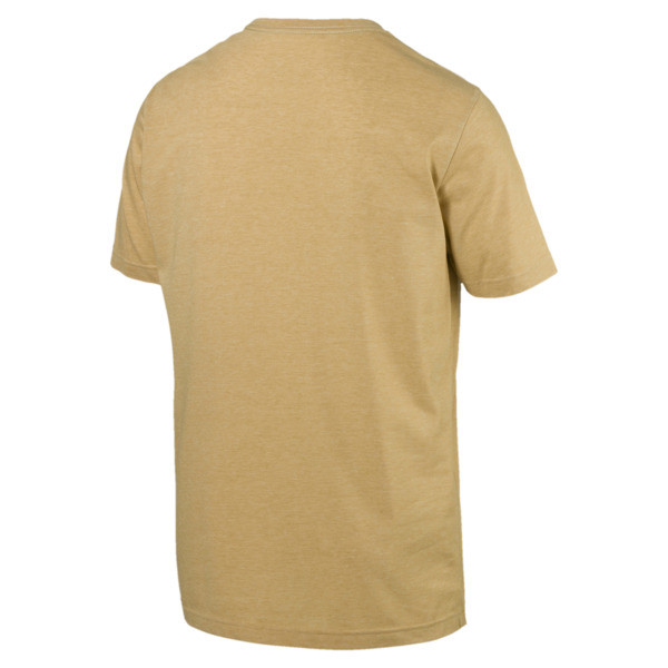 Camiseta jaspeada de hombre Essentials+, Taos Taupe Heather, grande