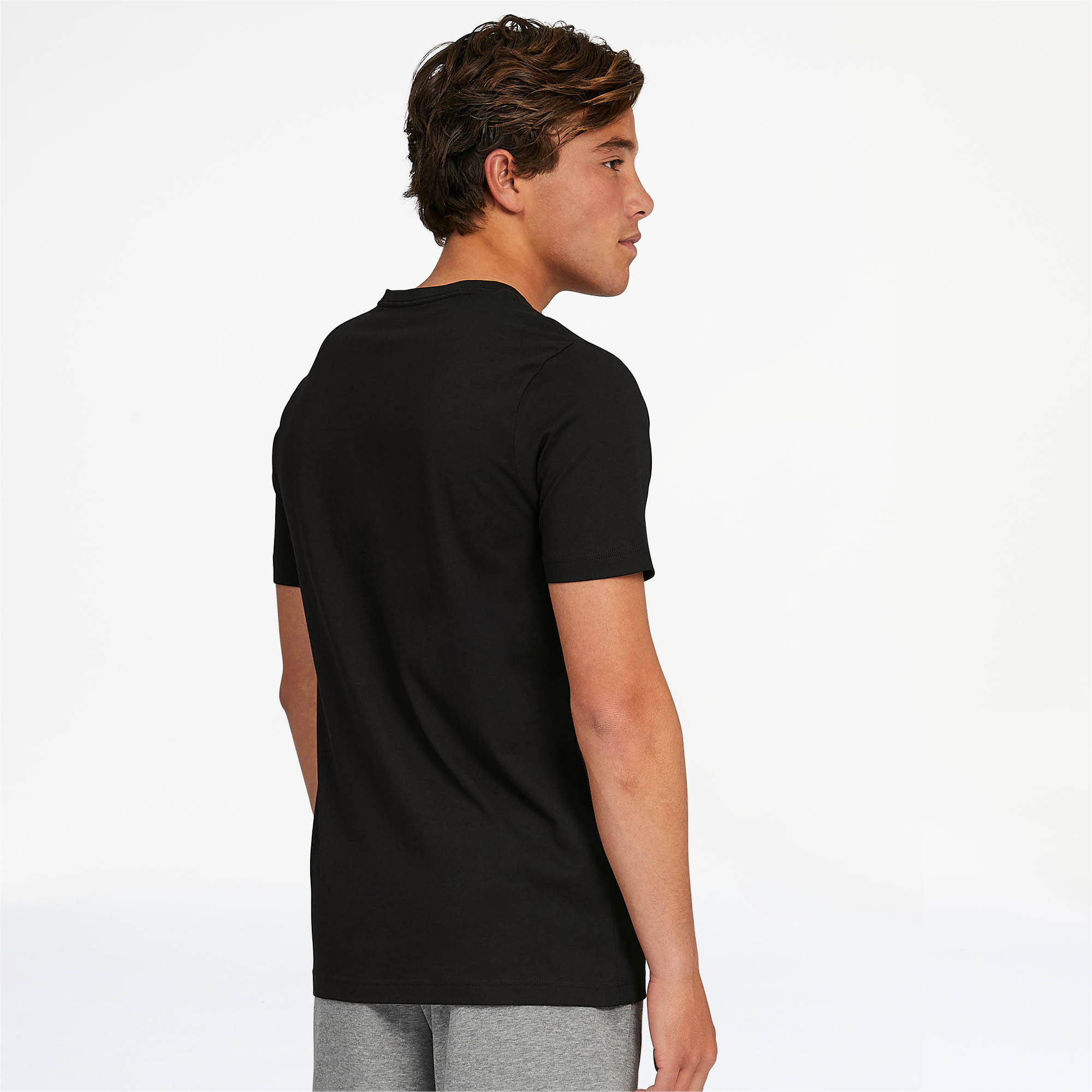 PUMA-Essentials-Men-039-s-V-Neck-Tee-Men-Tee-Basics thumbnail 8