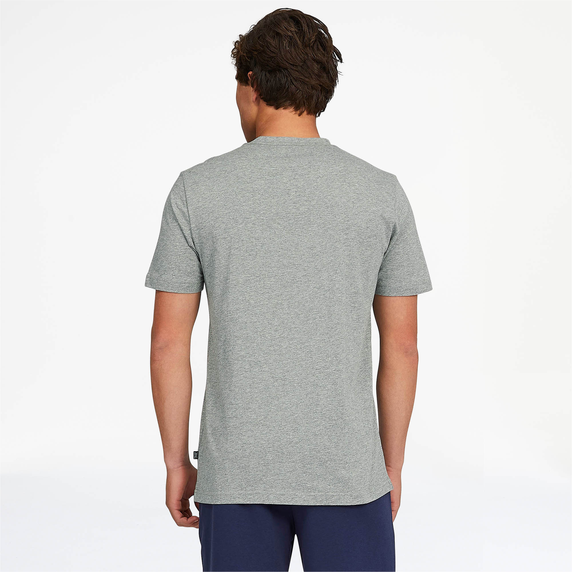 PUMA-Essentials-Men-039-s-V-Neck-Tee-Men-Tee-Basics thumbnail 16