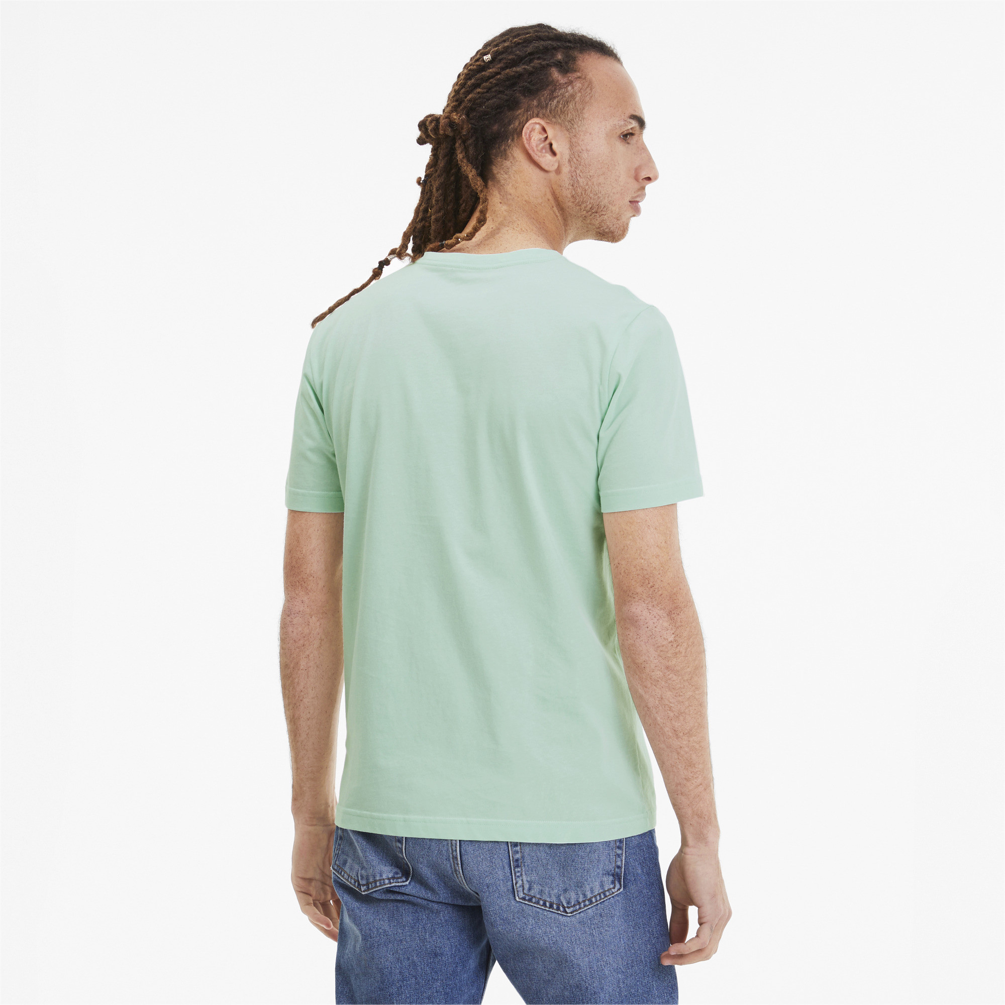 PUMA-Essentials-Men-039-s-V-Neck-Tee-Men-Tee-Basics thumbnail 33