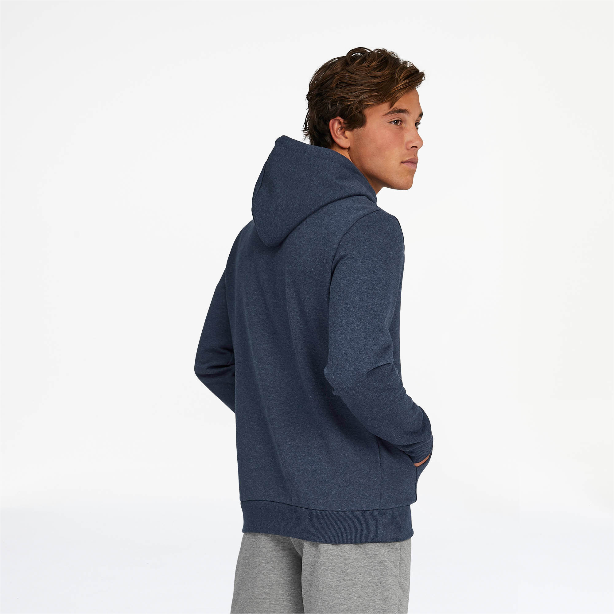 PUMA-Essentials-Men-039-s-Fleece-Hoodie-Men-Sweat-Basics thumbnail 22
