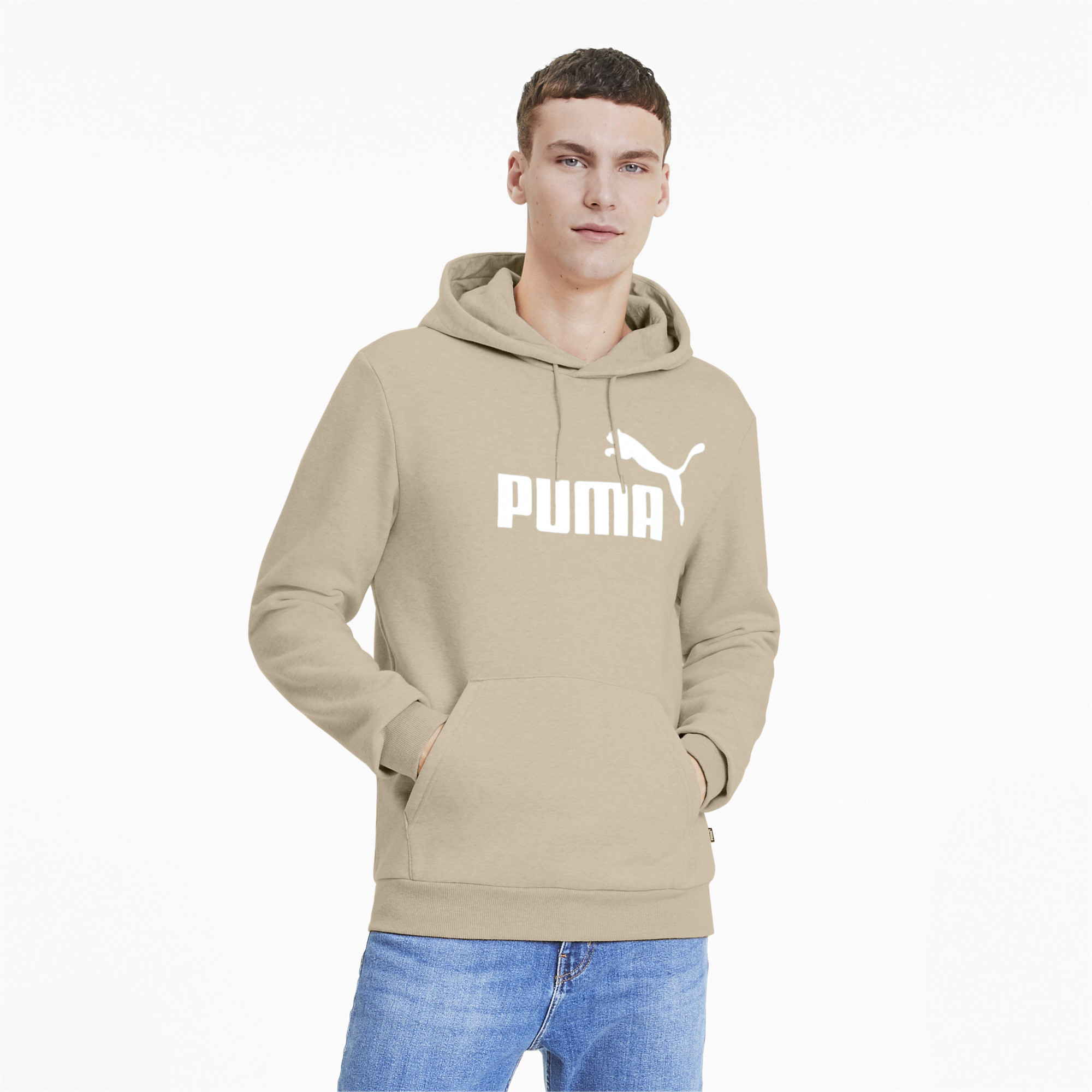PUMA-Essentials-Men-039-s-Fleece-Hoodie-Men-Sweat-Basics thumbnail 38
