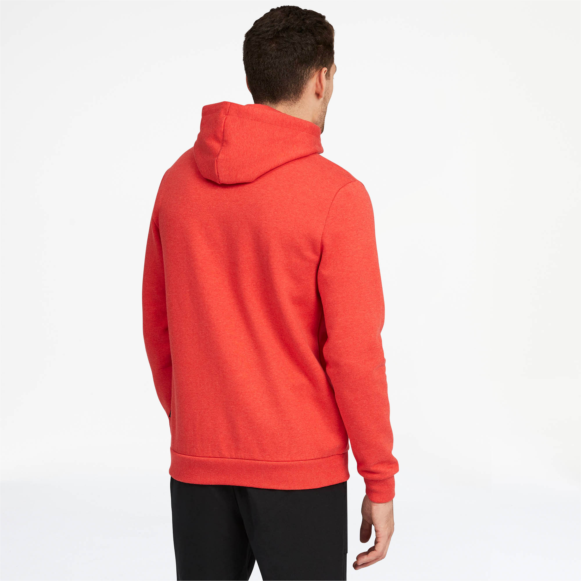 PUMA-Essentials-Men-039-s-Fleece-Hooded-Jacket-Men-Sweat-Basics thumbnail 12