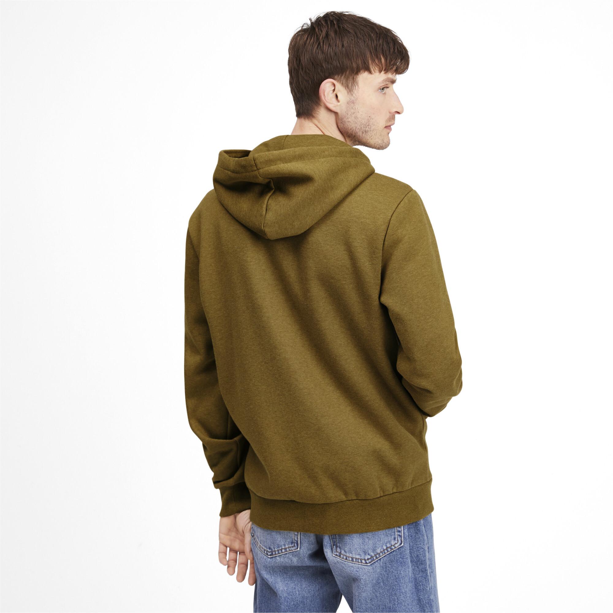 PUMA-Essentials-Men-039-s-Fleece-Hooded-Jacket-Men-Sweat-Basics thumbnail 23