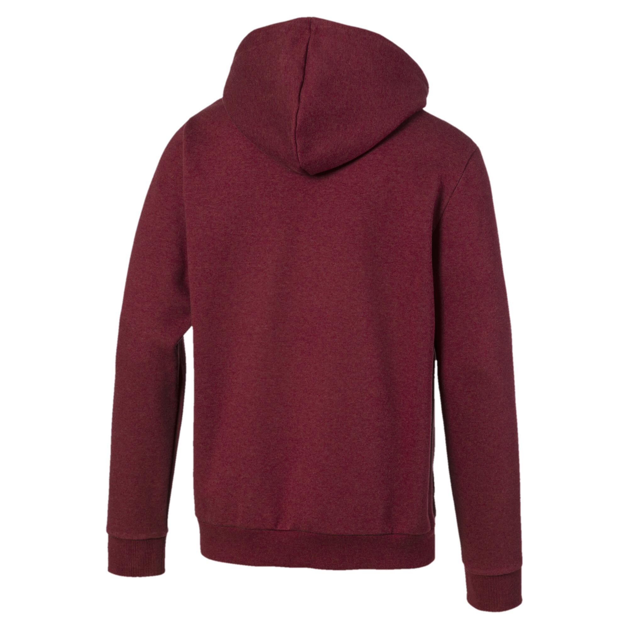 PUMA-Essentials-Men-039-s-Fleece-Hooded-Jacket-Men-Sweat-Basics thumbnail 7