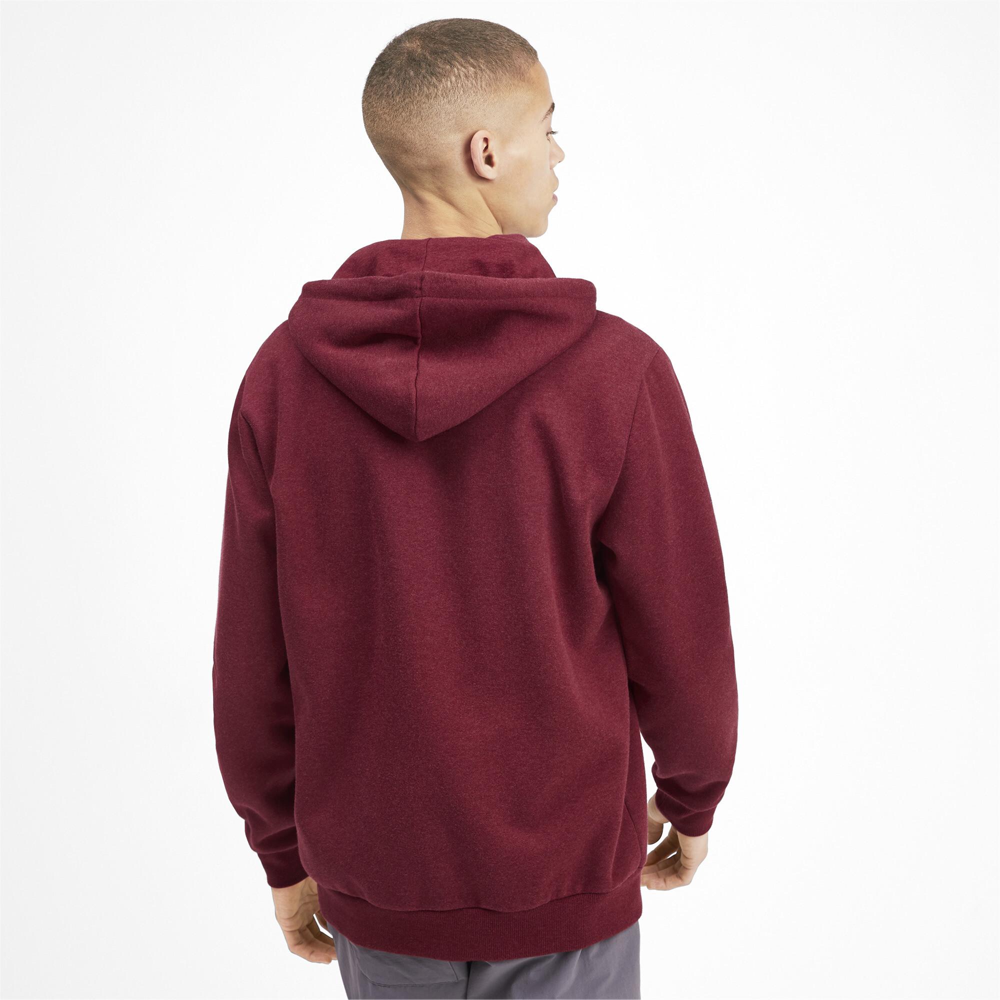 PUMA-Essentials-Men-039-s-Fleece-Hooded-Jacket-Men-Sweat-Basics thumbnail 9