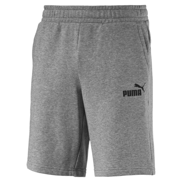 Essentials+ Slim Herren Shorts, Medium Gray Heather, large