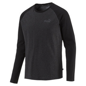 Thumbnail 1 of Essentials+ Longsleeve T-Shirt, Dark Gray Heather, medium