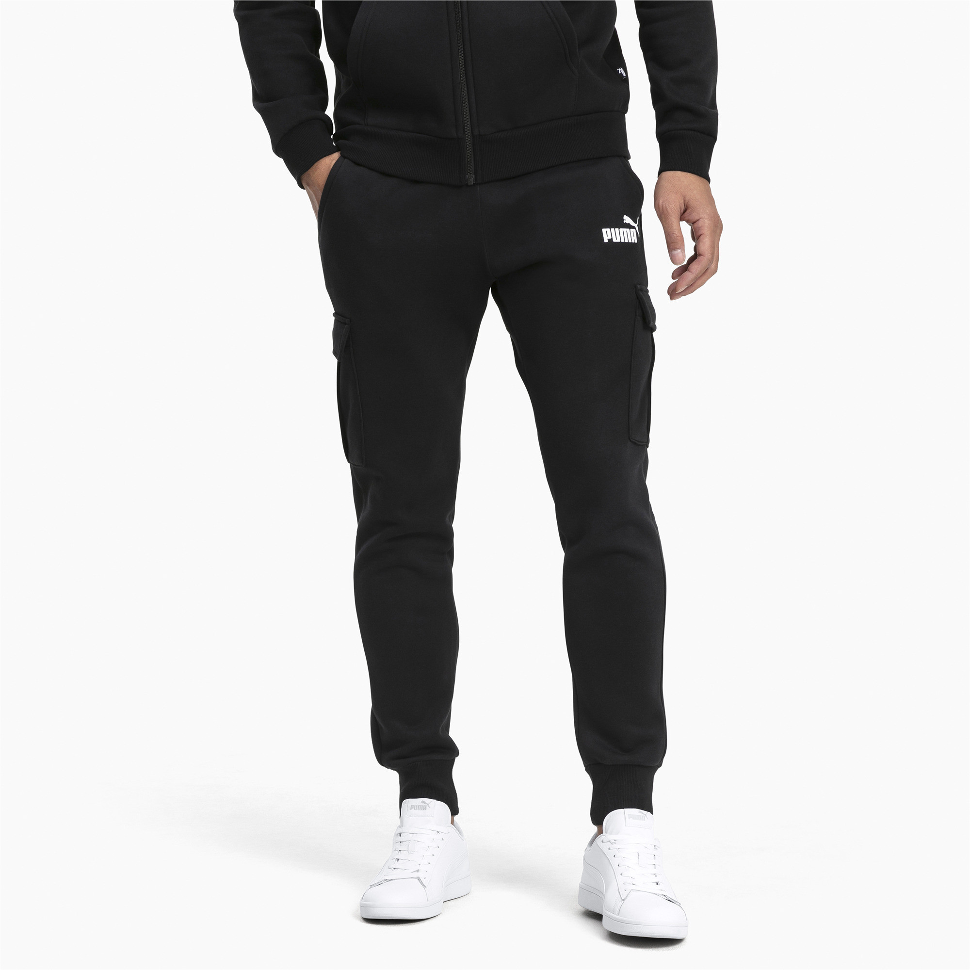 PUMA-Essentials-Men-039-s-Pocket-Pants-Men-Knitted-Pants-Basics thumbnail 7