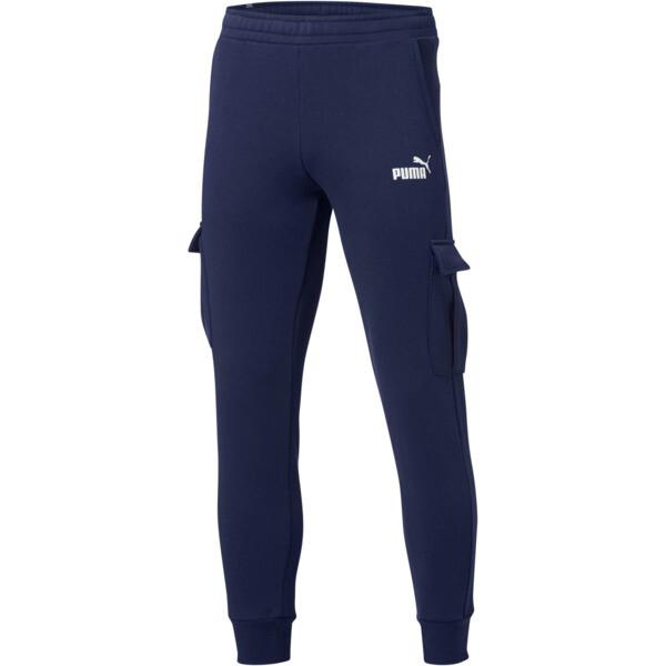 Pantalones Essentials+ con bolsillos para hombre, Peacoat, grande