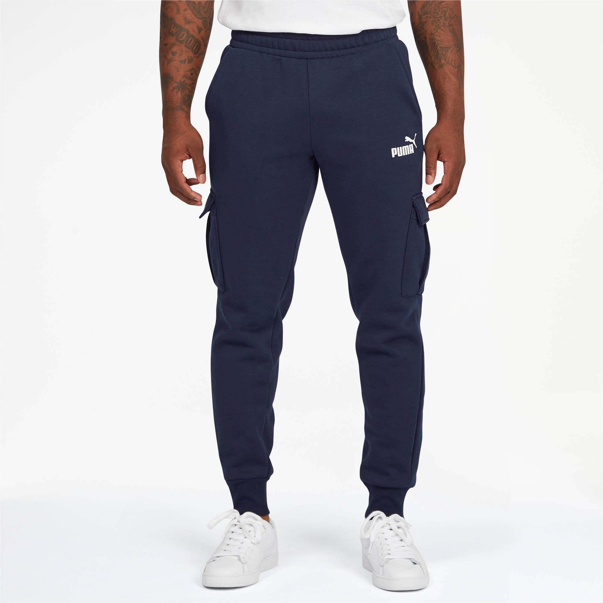 PUMA-Essentials-Men-039-s-Pocket-Pants-Men-Knitted-Pants-Basics thumbnail 9