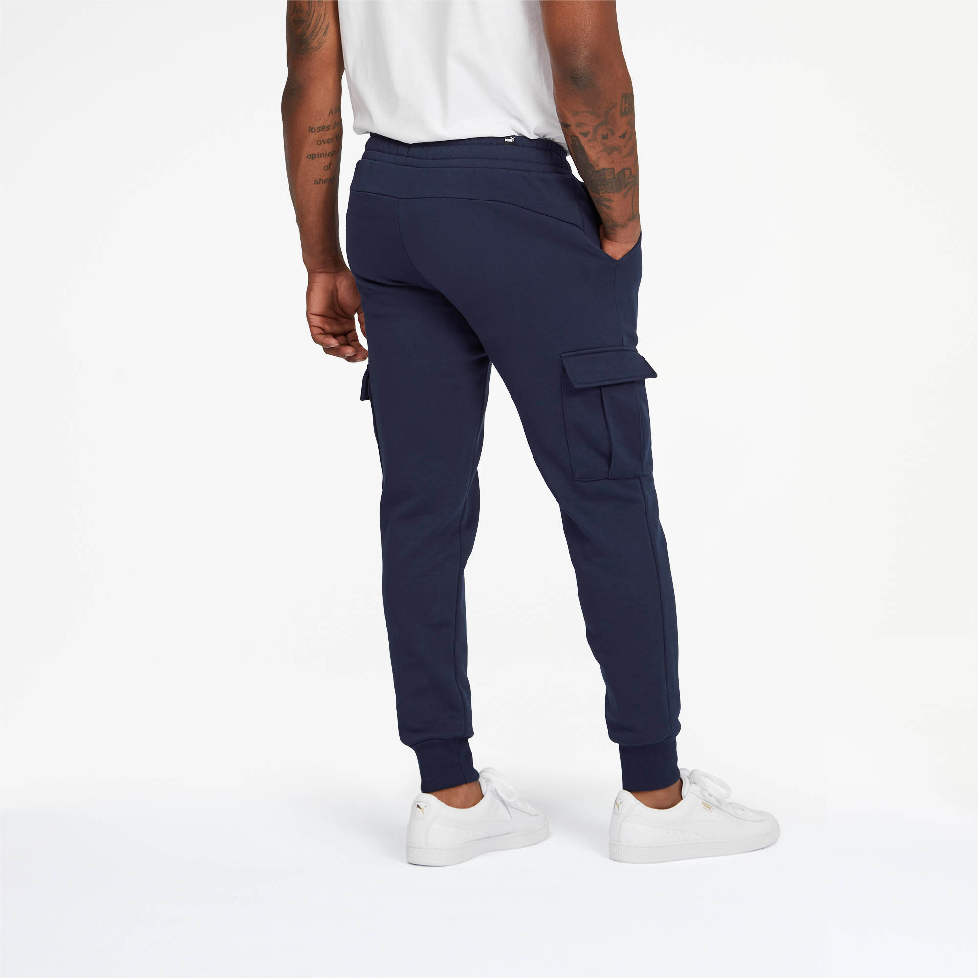 PUMA-Essentials-Men-039-s-Pocket-Pants-Men-Knitted-Pants-Basics thumbnail 10