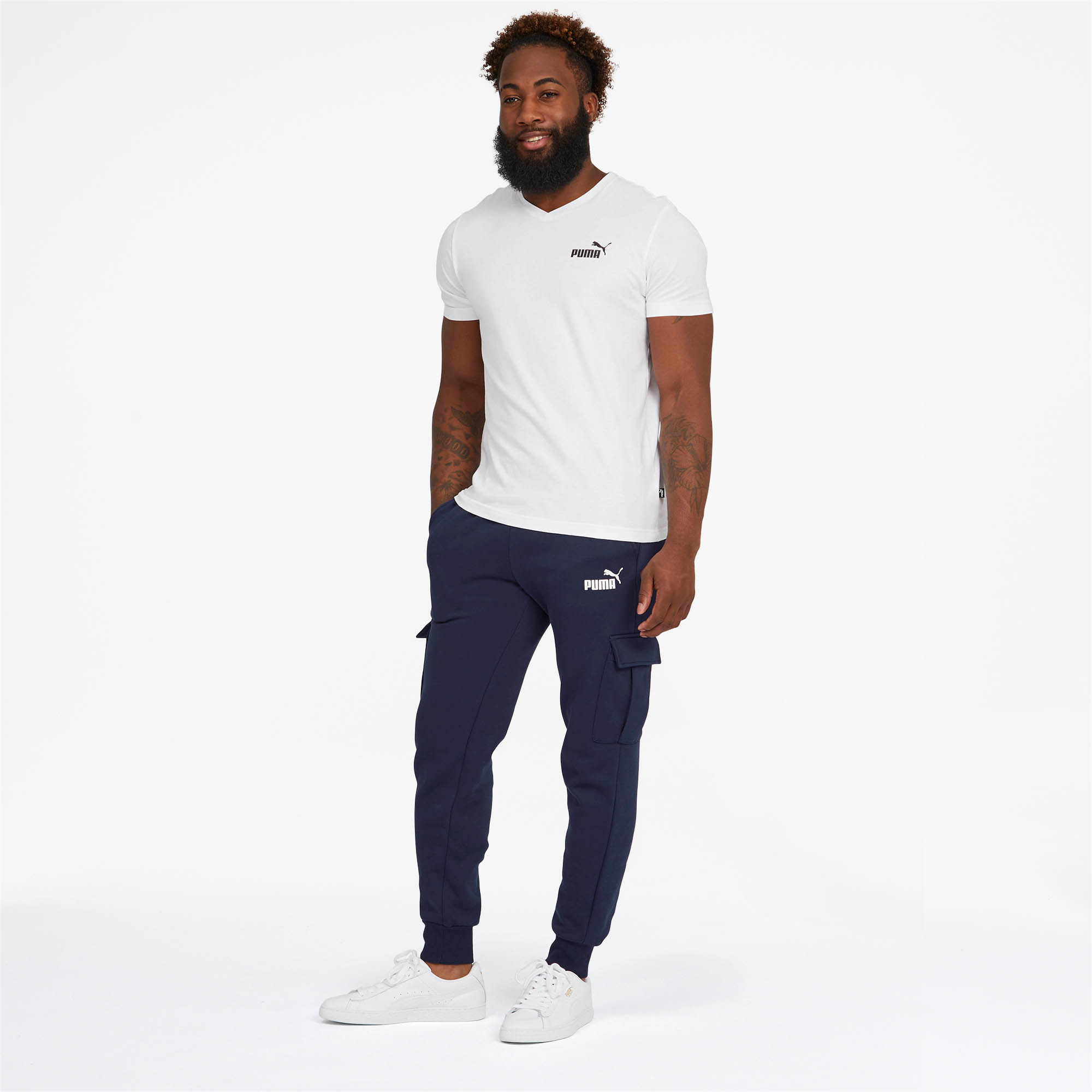 PUMA-Essentials-Men-039-s-Pocket-Pants-Men-Knitted-Pants-Basics thumbnail 11