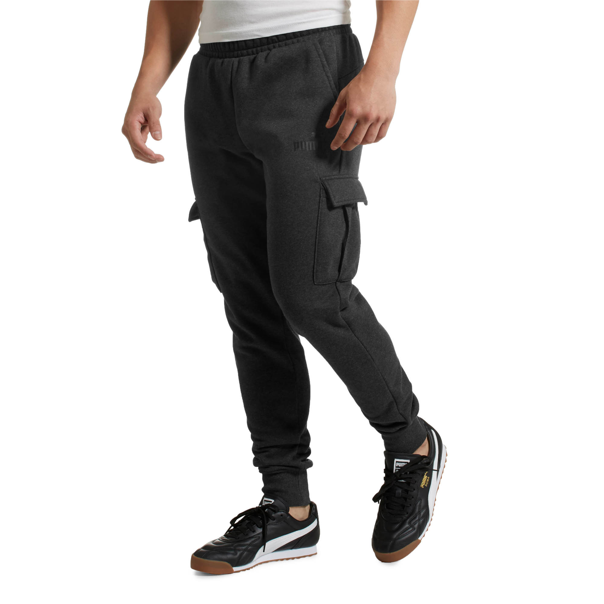 PUMA-Essentials-Men-039-s-Pocket-Pants-Men-Knitted-Pants-Basics thumbnail 13