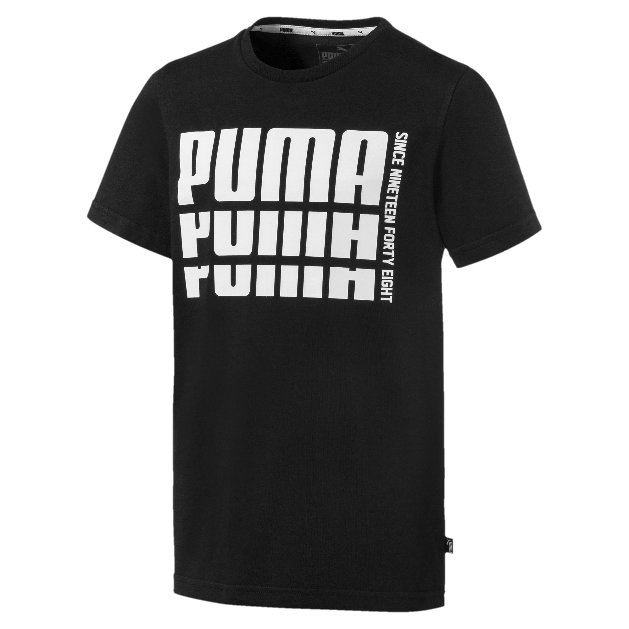 Image Puma Rebel Boys' Bold Basic T-Shirt #1