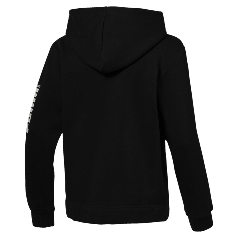Image Puma Rebel Boys' Bold Full Zip Fleece Hoodie #2