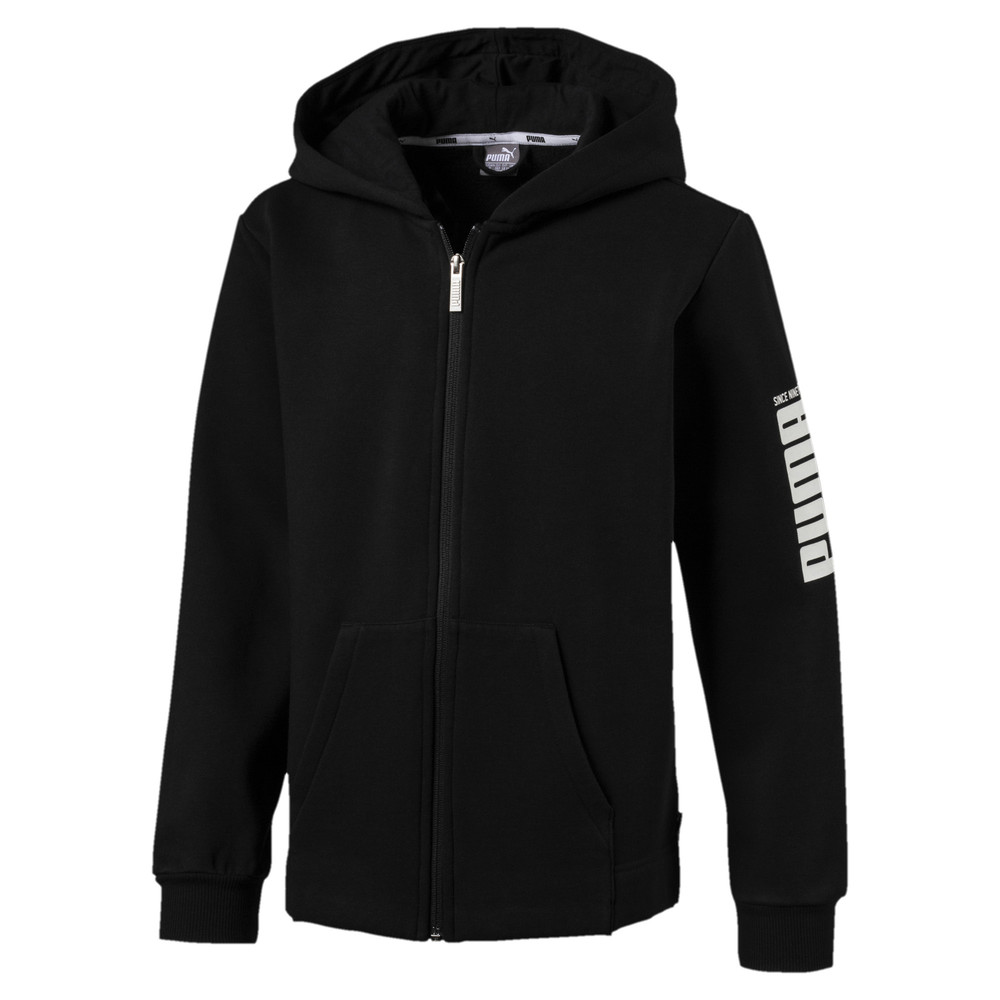 Image Puma Rebel Boys' Bold Full Zip Fleece Hoodie #1
