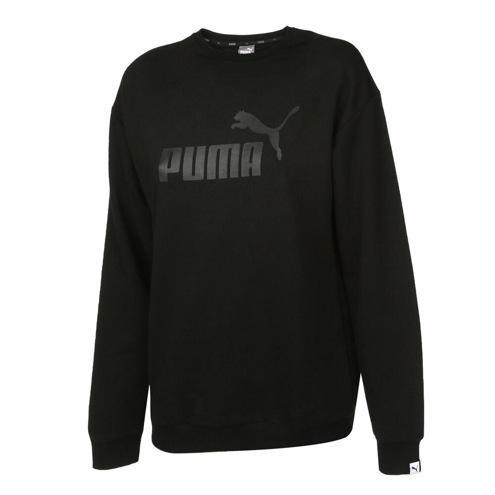 Görüntü Puma ESSENTIAL Logo Crew Kadın Sweatshirt #1