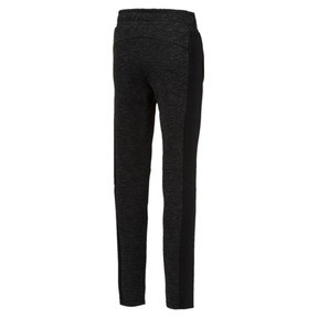 Thumbnail 2 of Evostripe Girls' Pants, Puma Black, medium