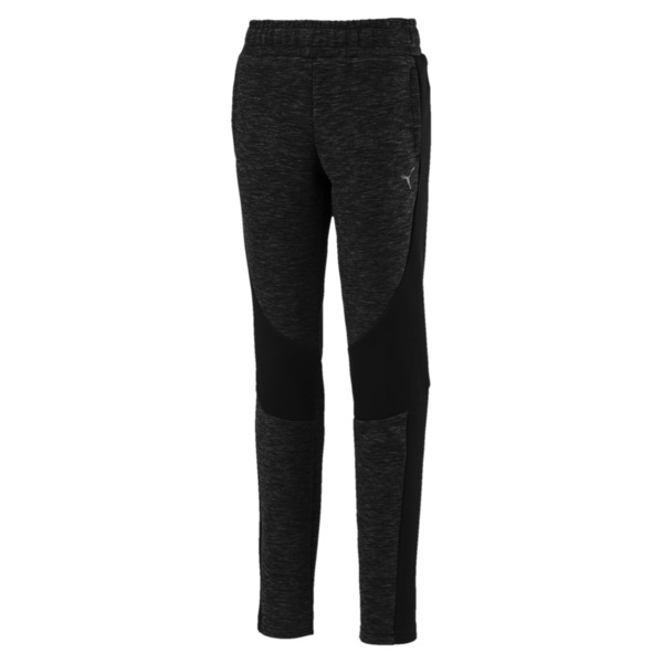 Evostripe Girls' Pants, Puma Black, large