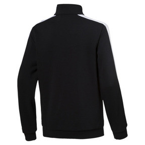 Thumbnail 2 of Classics T7 Boys' Track Jacket, Cotton Black, medium