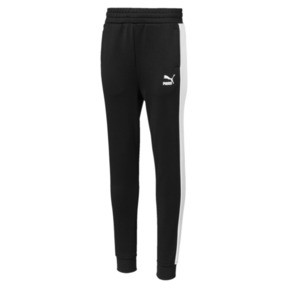 Thumbnail 1 of Classics T7 Boys' Track Pants, Cotton Black, medium