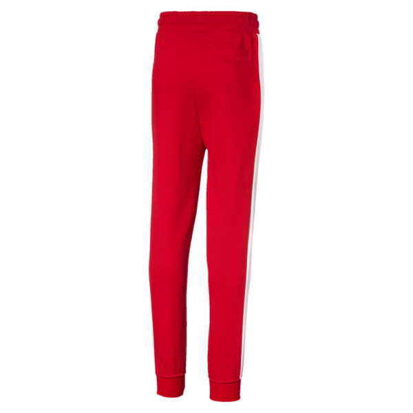 Classic T7 Boys' Track Pants, High Risk Red, large