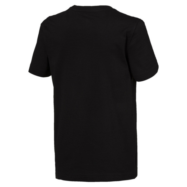 Essentials Boys' Tee, Cotton Black, large