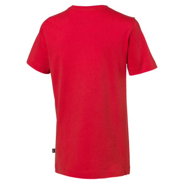 Essentials Boys' Tee, High Risk Red, large