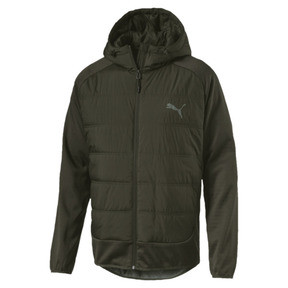 Thumbnail 1 of Hybrid Men's Padded Jacket, Forest Night, medium