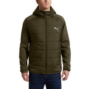 Thumbnail 2 of Hybrid Men's Padded Jacket, Forest Night, medium