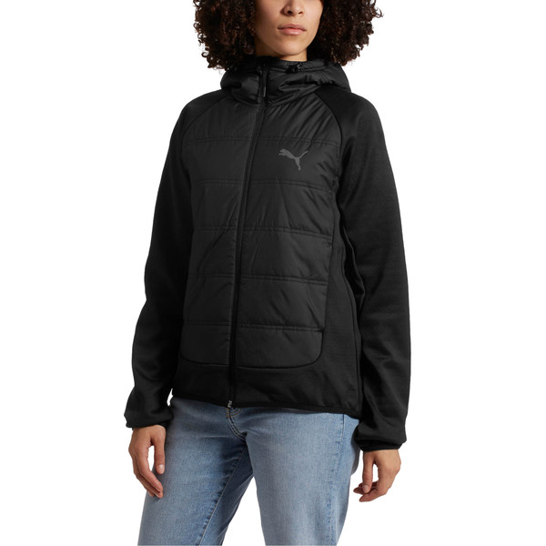 Hybrid Women's Padded Jacket, 01, large