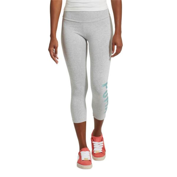Athletic 3/4 Leggings, LGH-Oceanaire Foil, large