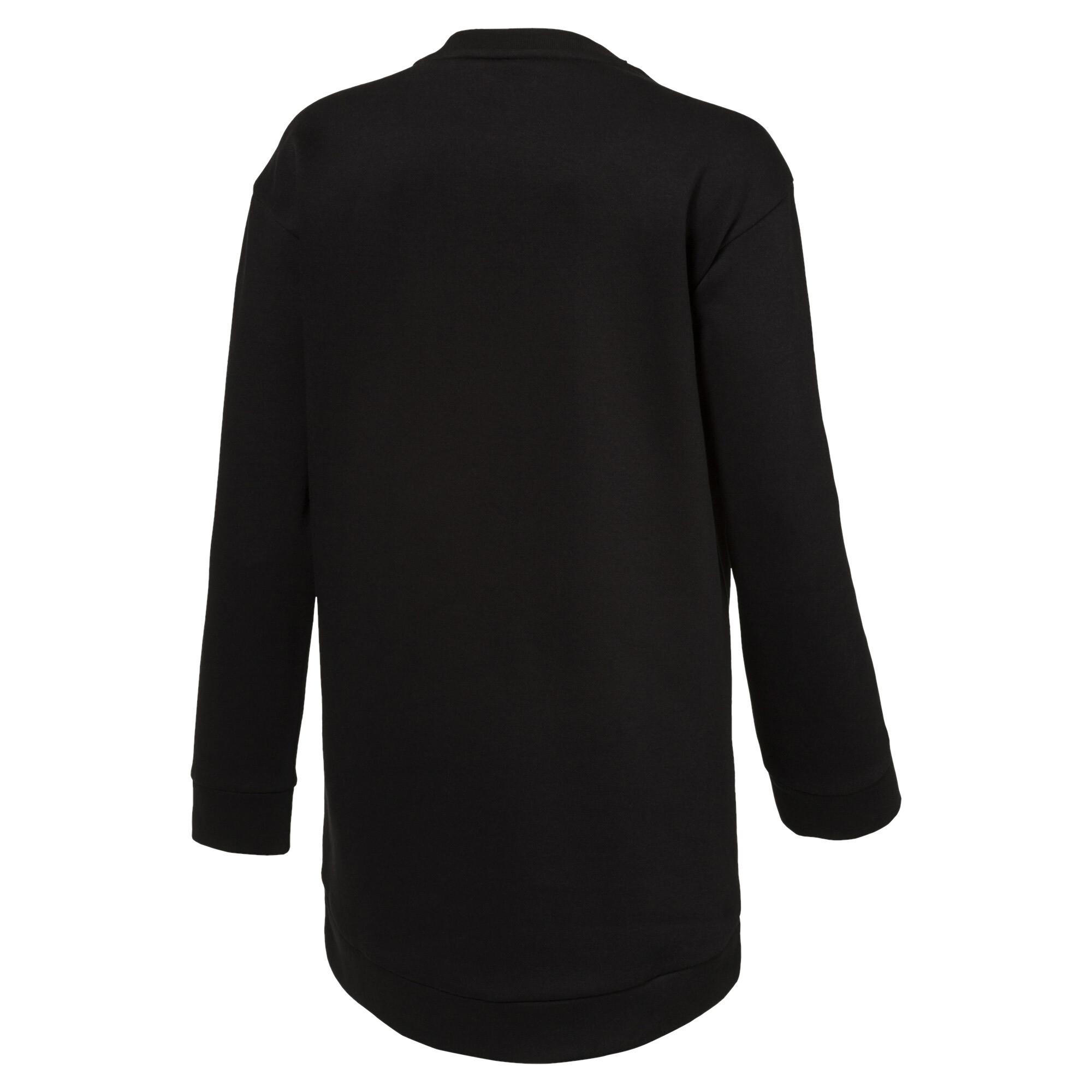 Image Puma Style Girls' Long Crew Sweater #2