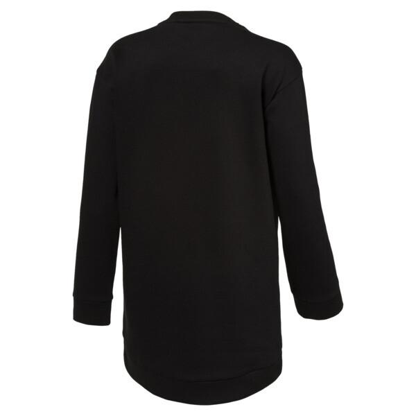 Style Girls' Long Crew Sweater, 01, large