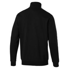 Thumbnail 2 of Tape Men's Track Jacket, Cotton Black, medium