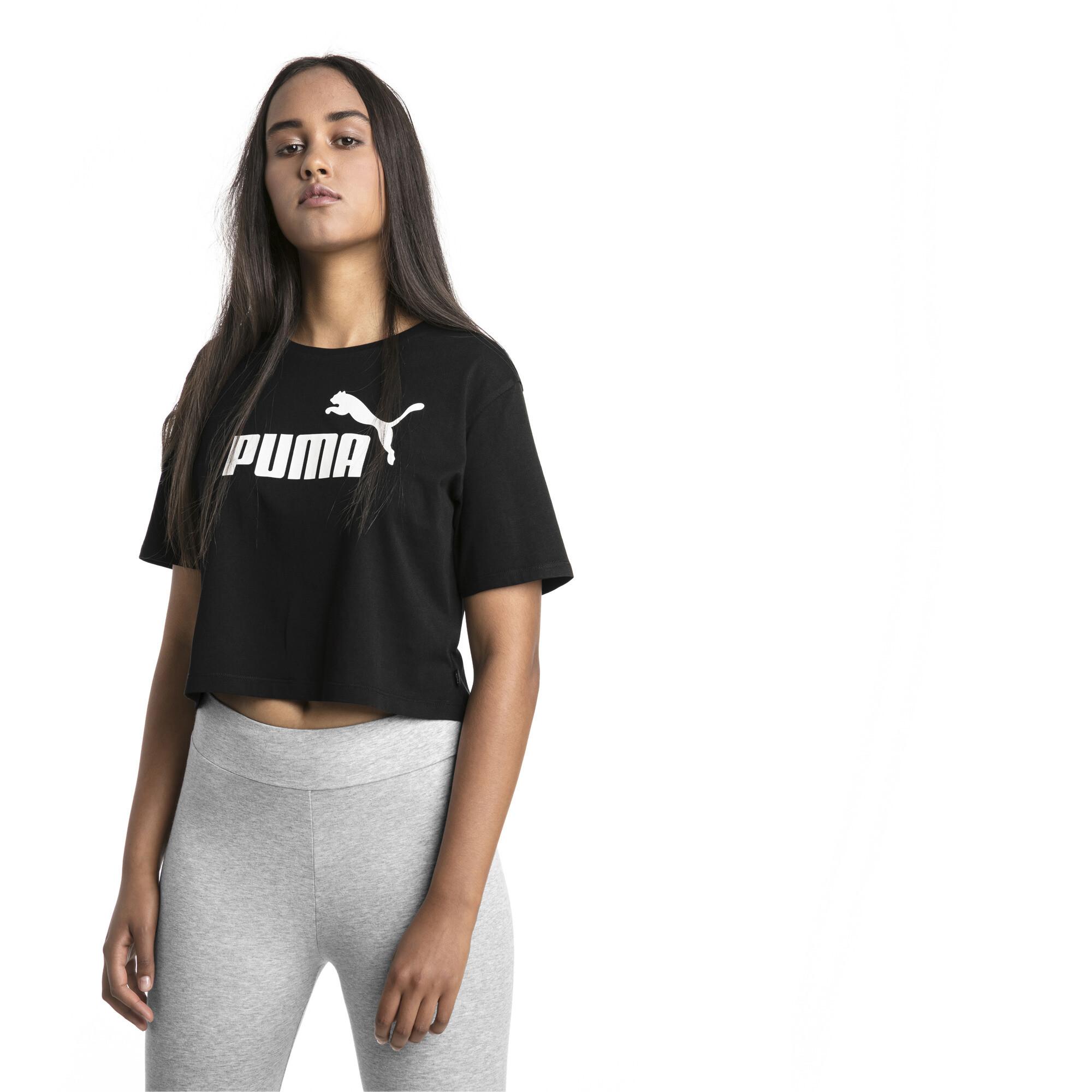 Image Puma Essentials+ Cropped Women's Tee #1
