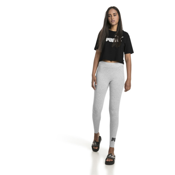 Essentials+ Cropped Women's Tee, Cotton Black, large