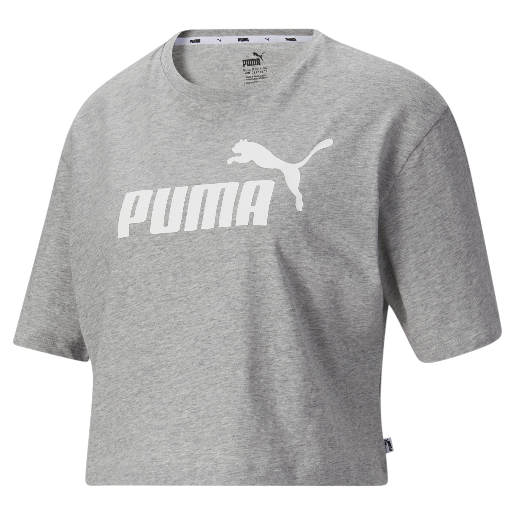 Image Puma Essentials+ Cropped Women's Tee #2