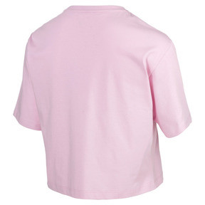 Thumbnail 5 of Essentials+ Cropped Women's Tee, Pale Pink, medium