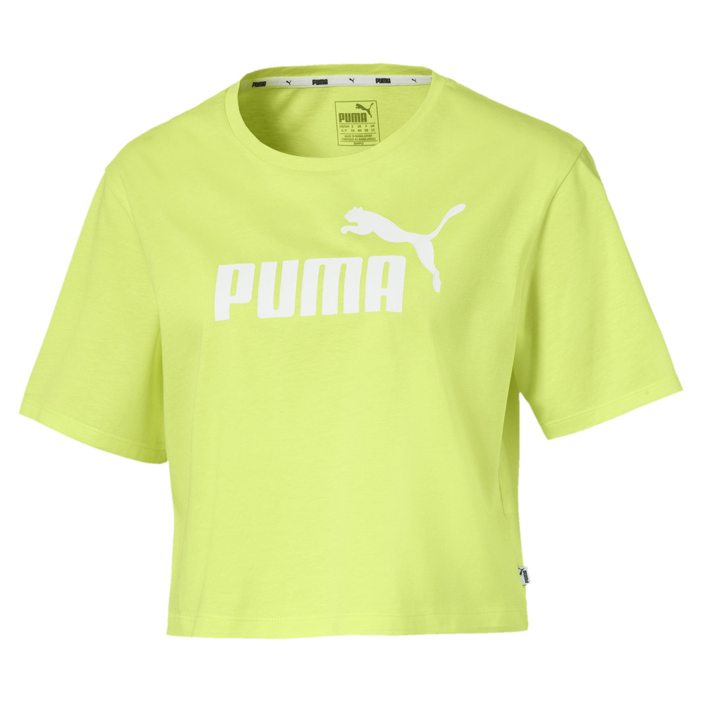 Image PUMA Camiseta Essentials+ Cropped Feminina #1