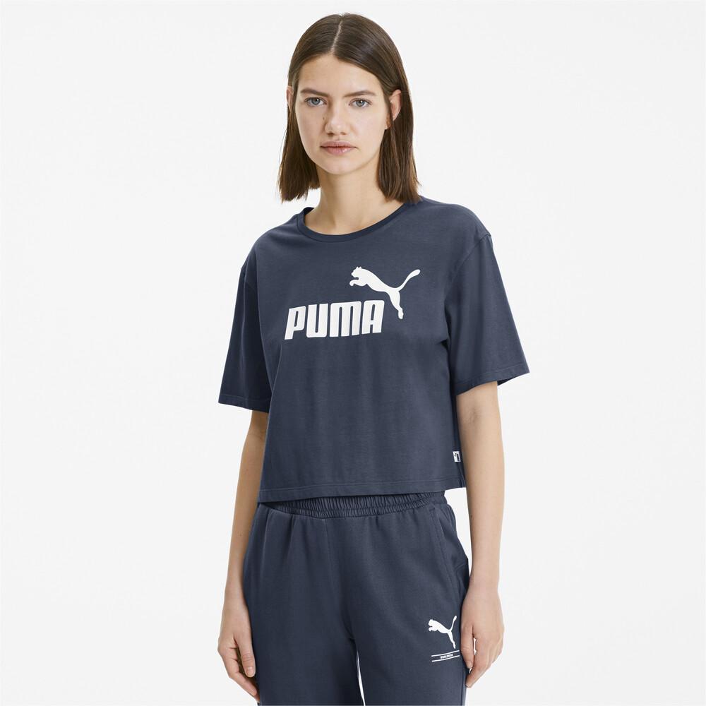 Image PUMA Camiseta Essentials+ Cropped Feminina #1