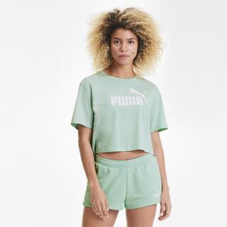 Camiseta Essentials+ Cropped Feminina